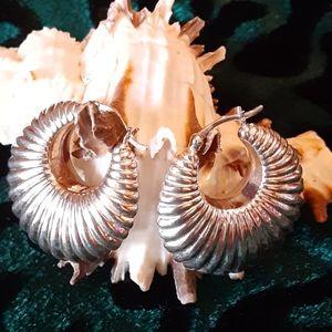 Silver .925 Shrimp Earrings